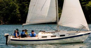 CBYC Start Keelboat Sailing