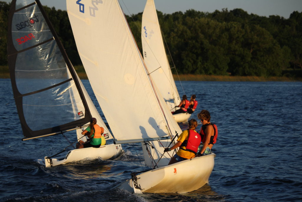 Friday night fun racing for students, parents, instructors and club members